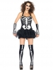 Sexy Glow in The Dark Skeleton Costume