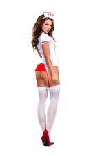 Sexy Triage Trixie Nurse Lingerie Costume Set