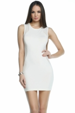 Sharp Mesh Side Panel Dress Forplay