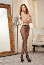 Sheer Crotchless Pantyhose Dreamgirl