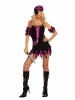Shipwrecked Wench Black Light Receptive 4 Pc Costume