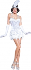 Silver Flapper Adult Costume InCharacter