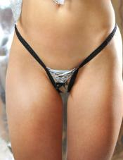 Silver Lady G-String Titlion