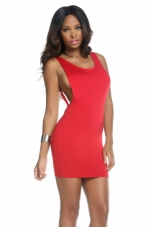 Simone Open Back Tank Dress Forplay