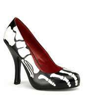 Skeleton Female Adult Shoes Pleaser USA