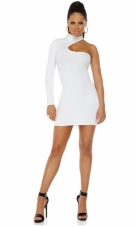 Sophisticate Mock Neck Bodycon Dress Forplay