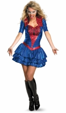 Spider-Girl Sexy Deluxe Adult Costume Disguise