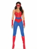 Spider Super Hero 5 Pc Costume