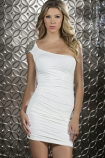 Splendor Beaded Shoulder Mini Dress Forplay