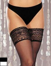 Stretch Lace Stay Up Stockings