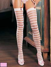 Striped Stockings Leg Avenue