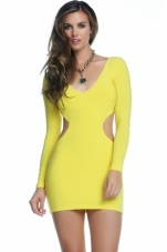 Sunni Cut-Out Bodycon Mini Dress Forplay