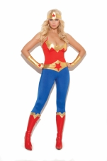 Super Hero 5 Pc Costume Elegant Moments