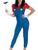Super Mario Bros. - Deluxe Mario Female Adult Costume