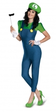 Super Mario Bros. - Luigi Female Plus Size Costume