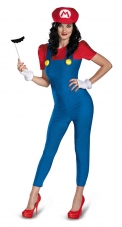 Super Mario Bros. - Mario Female Plus Size Costume