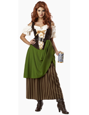 Tavern Maiden Costume California Costume