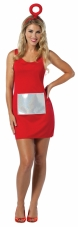 Teletubbies - Po Tank Dress Adult Costume