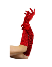 Temptress Long Red Gloves Smiffys