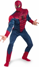 The Amazing Spider-Man Classic Muscle Adult Costume