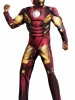 The Avengers Iron Man Mark VII Muscle Adult Costume Disguise