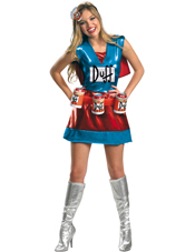 The Simpsons Duffwoman Deluxe Costume