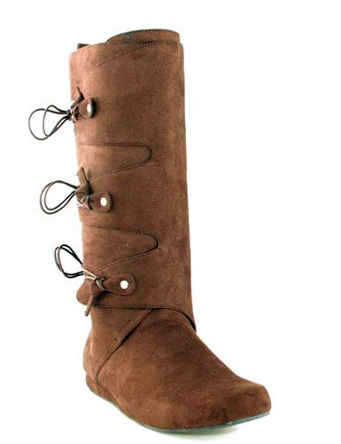 brown boots ellie 33559 costume shoes