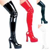 Thrill Thigh High Boots Ellie Shoes