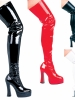 Thrill Thigh High Boots
