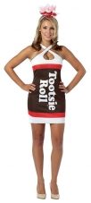 Tootsie Roll Teardrop Dress Costume