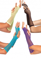 Triangle Net Fingerless Gloves Leg Avenue
