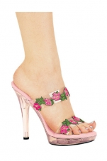 Tulip 5 Inch Heel Flower Sandal Ellie Shoes