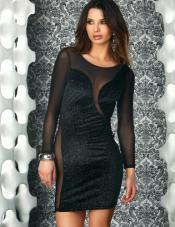 Vittoria Glitter Velvet Dress Forplay