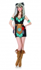 Wolf Warrior Indian Costume Leg Avenue