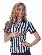 Womens Referee Shirt Adult Costume
