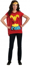 Wonder Woman T-Shirt Costume Kit