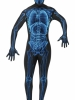 X-Ray Second Skin Suit Adult Costume Smiffys