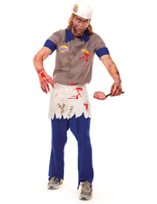 Zombie Burger Guy Costume Paper Magic