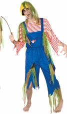 Zombie Fisherman Adult Plus Costume