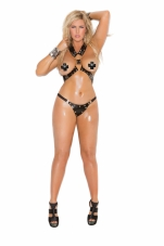 2 Piece Set Harness and G-String Elegant Moments